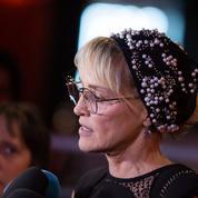 À Paris, Sharon Stone s'indigne du sort des migrants