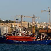 Le Lifeline est arrivé à Malte avec 233 migrants à bord