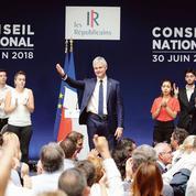 À Menton, Laurent Wauquiez célèbre l'unité du parti