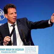 Geoffroy Roux de Bézieux succède à Pierre Gattaz à la présidence du Medef