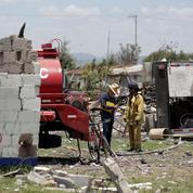 Mexique : une explosion dans un entrepôt de feux d'artifice fait plusieurs morts