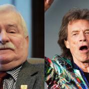 Réformes judiciaires en Pologne: Mick Jagger répond à l'appel de Lech Walesa sans s'engager