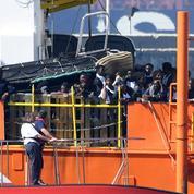«Aquarius» : 78 réfugiés secourus par le navire sont arrivés en France