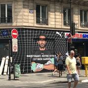 Contre une boutique vandalisée, le Paris SG utilise l'image de Buffon