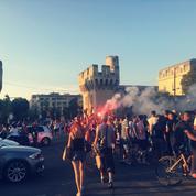 Les Bleus, champions du monde : le Festival d'Avignon, théâtre d'une joie contenue