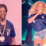 Jay-Z et Beyoncé, premiers supporters des Bleus au Stade de France