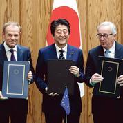 Face à Trump, l'UE et le Japon scellent un accord commercial «historique»