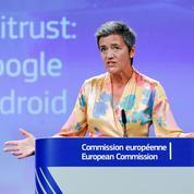Bruxelles inflige une amende record à Google pour contrer son hégémonie