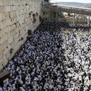 Une pierre de cent kilos se décroche du Mur des Lamentations à Jérusalem