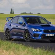 Subaru STI Legend Edition, un véritable feu d'artifice