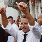Macron contre-attaque dans les Hautes-Pyrénées
