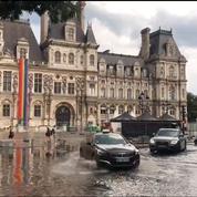 Orages en Île-de-France: les impressionnantes images des internautes