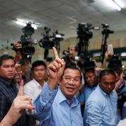 Cambodge: le parti d'Hun Sen revendique une victoire totale aux législatives