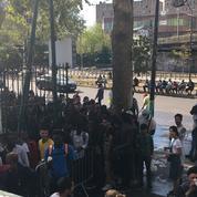 Paris : « Situation explosive » pour les migrants de la Porte de la Chapelle