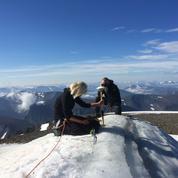 Réchauffement climatique : la fonte du plus haut sommet suédois inquiète les scientifiques
