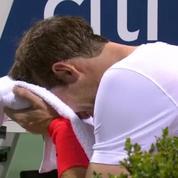 L'intense émotion d'Andy Murray après sa victoire à Washington