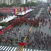 Venezuela : un groupe inconnu revendique l'attaque contre Maduro, six personnes arrêtées