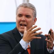 Ivan Duque investi comme nouveau président colombien