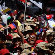 Au Venezuela, les prochavistes manifestent leur soutien à Nicolas Maduro