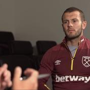 La recrue de West Ham Jack Wilshere bizutée lors d'une caméra cachée