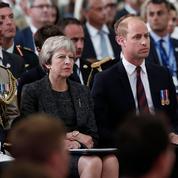 Theresa May et le Prince William à Amiens pour le centenaire de la Grande Guerre