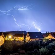 Météo: des orages accompagnés de fortes pluies et de vent puissant attendus dans l'Est