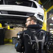 Ford invente «l'ouvrier augmenté», équipé d'un exosquelette