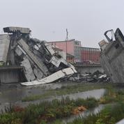 Effondrement d'un pont en Italie : «La foudre a frappé le pilier et tout a commencé à s'écrouler»