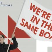 Sur fond d'affaire Aquarius, une affiche de Marina Abramovic scandalise la droite italienne