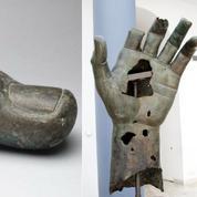 Le doigt manquant de la statue colossale de Constantin retrouvé dans les réserves du Louvre