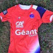 Le maillot 2018/2019 du club d'Aurillac rend hommage à son joueur décédé