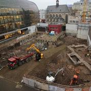Une bibliothèque romaine deux fois millénaire découverte sous un temple à Cologne