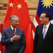 Le premier ministre malaisien dénonce le «néocolonialisme» chinois