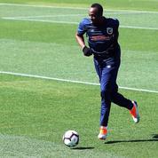 Usain Bolt a débuté l'entrainement pour son essai avec un club de football australien