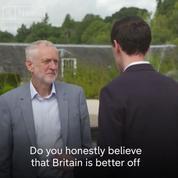 Brexit : la question à laquelle Jeremy Corbyn a refusé de répondre à six reprises