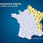 Orages : l'alerte orange levée pour les six derniers départements