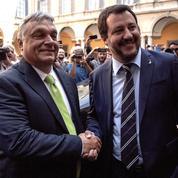 Italie: Salvini et Orban forgent l'axe europhobe