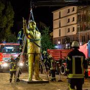 Wiesbaden retire la statue dorée d'Erdogan qui fait polémique