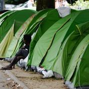 À Nantes, les migrants squattent toujours square Daviais