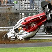 Le crash spectaculaire du pilote de Formule 1 Marcus Ericsson