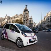 Madrid, championne de l'auto-partage en Europe