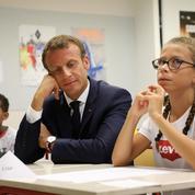 À Laval, Macron cherche une respiration malgré «la fébrilité de la rentrée»