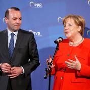 Européennes: Merkel prête à jouer la carte Manfred Weber