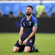 Si Olivier Giroud pouvait remercier quelqu'un pour le titre mondial, ce serait «Jésus-Christ»