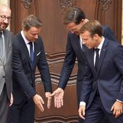 Au Luxembourg, Macron mise sur l'Europe pour se relancer