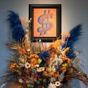 Un bouquet pour une oeuvre chez Artcurial