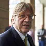 Européennes : Guy Verhofstadt, le Belge qui veut s'allier à Emmanuel Macron