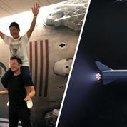 Le premier client d'Elon Musk pour aller autour de la Lune est un milliardaire japonais
