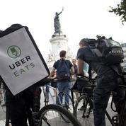 Livraison de repas: Uber Eats vise la place de leader avec Deliveroo