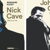 Nick Cave et Johnny Cash en bande dessinée